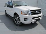 2015 White Platinum Metallic Tri-Coat Ford Expedition EL XLT #97561992