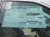 2015 Ford Expedition EL XLT Window Sticker