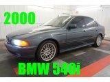 2000 Anthracite Metallic BMW 5 Series 540i Sedan #97561656