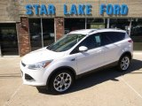 2014 White Platinum Ford Escape Titanium 2.0L EcoBoost #97562221