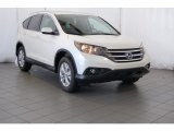 2014 White Diamond Pearl Honda CR-V EX-L AWD #97604256