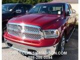 2014 Deep Cherry Red Crystal Pearl Ram 1500 Laramie Crew Cab 4x4 #97604668