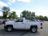 2015 Summit White Chevrolet Silverado 1500 WT Regular Cab 4x4 #97604841