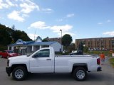 2015 Summit White Chevrolet Silverado 1500 WT Regular Cab 4x4 #97604838