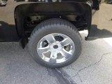 2015 Chevrolet Silverado 1500 LTZ Double Cab 4x4 Wheel