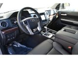 2015 Toyota Tundra Limited CrewMax 4x4 Black Interior