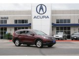 2012 Basque Red Pearl II Honda CR-V EX-L #97604285