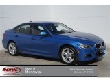 2015 Estoril Blue BMW 3 Series 328i Sedan #97604546