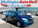 2011 South Pacific Blue Pearl Toyota Sienna V6 #97645609