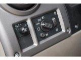2003 Hummer H2 SUV Controls