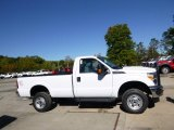 2015 Oxford White Ford F250 Super Duty XL Regular Cab 4x4 #97645494