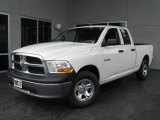 2009 Stone White Dodge Ram 1500 ST Quad Cab #9748585