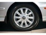Hyundai Sonata 2004 Wheels and Tires