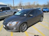 2014 Sterling Gray Ford Focus SE Sedan #97645527