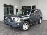 2007 Steel Blue Metallic Jeep Patriot Sport #9748616