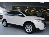 2014 White Platinum Ford Edge SEL #97645625