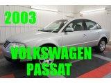 2003 Reflex Silver Metallic Volkswagen Passat GLX Sedan #97697589