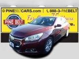 2015 Butte Red Metallic Chevrolet Malibu LT #97697629