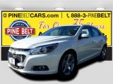 2015 Summit White Chevrolet Malibu LTZ #97697613