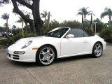 2008 Carrara White Porsche 911 Carrera 4S Cabriolet #9750190
