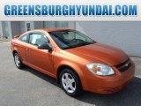 2007 Sunburst Orange Metallic Chevrolet Cobalt LS Coupe #97723590