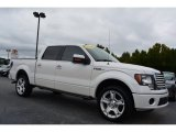 2011 White Platinum Metallic Tri-Coat Ford F150 Limited SuperCrew 4x4 #97723681