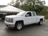 2015 Summit White Chevrolet Silverado 1500 LT Double Cab 4x4 #97745321