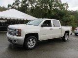 2014 White Diamond Tricoat Chevrolet Silverado 1500 LT Crew Cab 4x4 #97745316