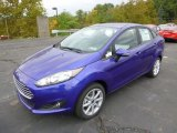 Perfomance Blue Ford Fiesta in 2015