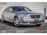 2004 Brilliant Silver Metallic Mercedes-Benz S 600 Sedan #97745235