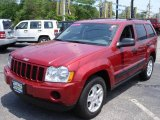 2006 Inferno Red Crystal Pearl Jeep Grand Cherokee Laredo 4x4 #9691281