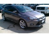 2014 Sterling Gray Ford Focus Titanium Hatchback #97745272