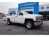2015 Summit White Chevrolet Silverado 1500 WT Regular Cab #97745468