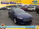 2013 Deep Impact Blue Metallic Ford Fusion SE #97784035