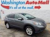 2012 Polished Metal Metallic Honda CR-V EX 4WD #97783875