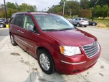 2010 Chrysler Town & Country Inferno Red Crystal Pearl