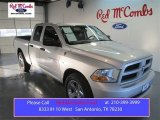 2012 Bright Silver Metallic Dodge Ram 1500 ST Quad Cab #97783861