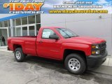 2015 Victory Red Chevrolet Silverado 1500 WT Regular Cab 4x4 #97783795