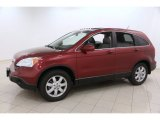 Tango Red Pearl Honda CR-V in 2009