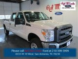 2015 Oxford White Ford F250 Super Duty XL Crew Cab 4x4 #97783828