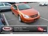 2007 Sunburst Orange Metallic Chevrolet Cobalt LS Coupe #97783738