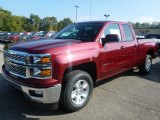 Deep Ruby Metallic Chevrolet Silverado 1500 in 2015