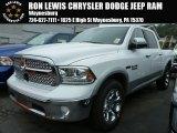 2014 Bright White Ram 1500 Laramie Crew Cab 4x4 #97824516