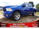 2014 Blue Streak Pearl Coat Ram 1500 Express Crew Cab #97824422