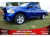 2014 Blue Streak Pearl Coat Ram 1500 Express Crew Cab #97824420