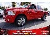 2014 Flame Red Ram 1500 Express Crew Cab #97824419