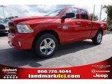 2014 Flame Red Ram 1500 Express Quad Cab #97824418