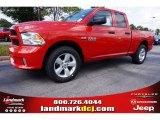 2014 Flame Red Ram 1500 Express Quad Cab #97824417