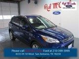 2014 Deep Impact Blue Ford Escape Titanium 1.6L EcoBoost #97824342