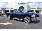 2012 True Blue Pearl Dodge Ram 1500 Big Horn Quad Cab 4x4 #97824498